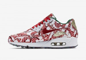 "Nike Wmns Air Max 90 QS ""Gift Wrapped Pack"" (813150-101)"