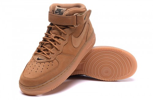 buty nike air force 1 mid 07 prm qs flax