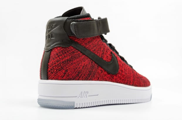 buty nike air force 1 ultra flyknit mid red