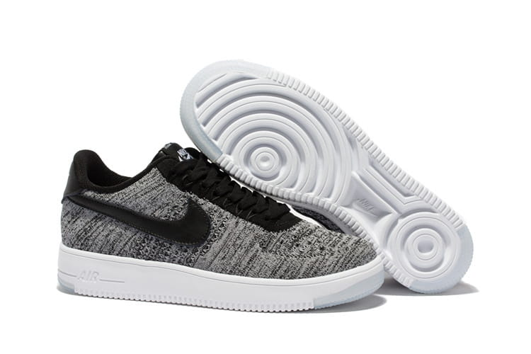 nike air force 1 low flyknit oreo