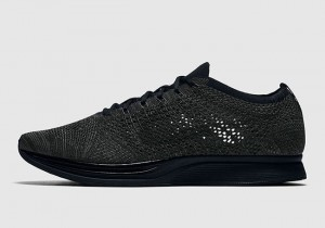 Nike Flyknit Racer Mid Night Triple Black (526628-009)