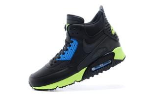 Nike Air Max 90 Mid Winter SzareRóżoweCzarne 4shoes.pl
