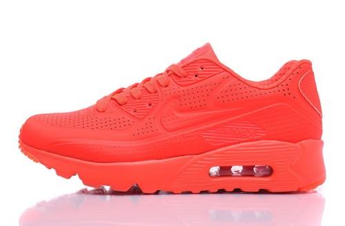 Nike Air Max 90 Ultra Moire Bright CrimsonWhite 819477 600