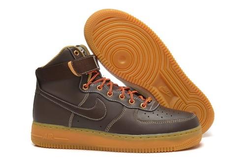777fd742 Nike Air Force 1 HI Brązowe (315121-203) 4shoes.pl