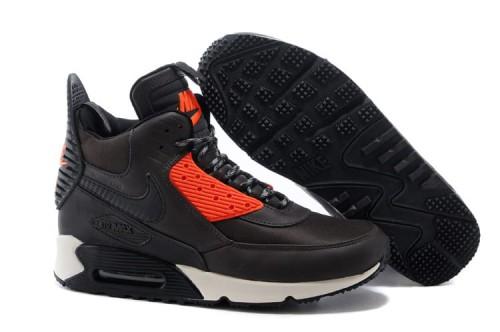 Nike Air Max 90 SneakerBoot Brązowe