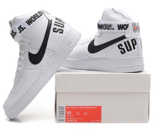 Buty Damskie Nike Air Force 1 High Supreme 698696 100, NIKE