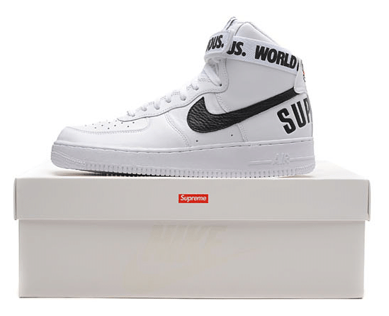 Nike Air force 1 High Supreme SP (698696 100)