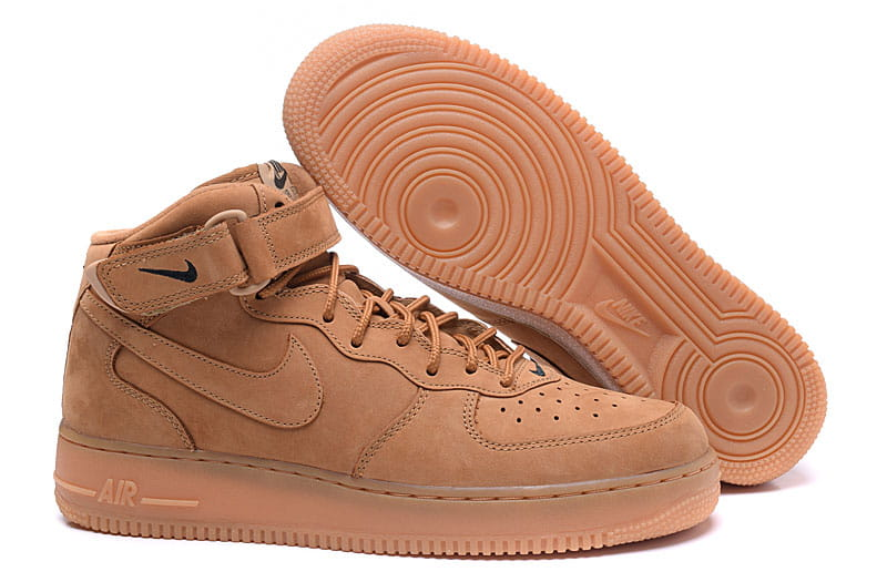Buty Nike Air Force 1 Mid 07 PRM QS Flax 715889 200