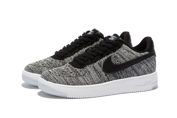 Nike Air Force 1 Low Flyknit Black